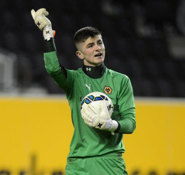 Wolverhampton Wanderers' Harry Burgoyne