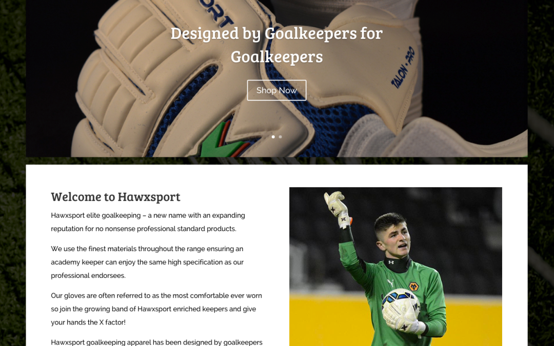 Hawxsport Website Launch